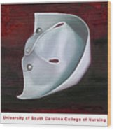 University Of South Carolina College Of Nursing Wood Print