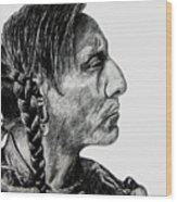 Unknown Indian II Wood Print