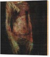 Untitled Figure Wood Print
