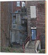 Urban Decay Wood Print