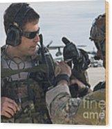 U.s. Air Force Combat Controllers Wood Print