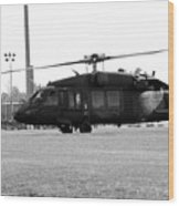 Us Army Blackhawks Wood Print