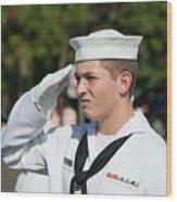 Us Naval Sea Cadet Corps - Gulf Eagle Division, Cape Coral, Florida Wood Print