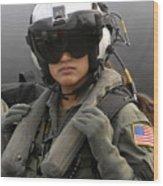 U.s. Navy Aviation Warfare Systems Wood Print