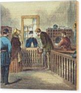 Va: Freedmens Bureau 1866 Wood Print