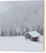 Val D'otro - Piedmont / Italy Wood Print