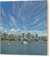 Vancouver British Columbia Wood Print