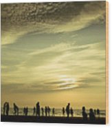 Vanilla Sky Wood Print