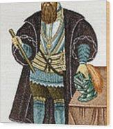 Vasco Da Gama, Portuguese Explorer Wood Print