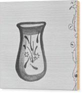 Vase Wood Print