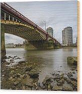 Vauxhall Bridge Wood Print