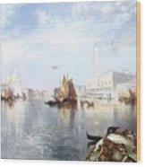 Venetian Grand Canal Wood Print