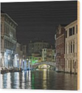 Romantic Venice  Wood Print
