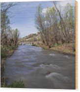 Verde River Wood Print