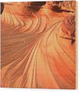 Vermilion Cliffs Dragon Wood Print