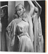 Veronica Lake, Paramount Pictures Wood Print