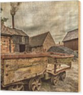 Victorian Colliery Wood Print