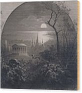 View From Greenwood Cemetery Wood Print