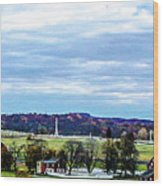 View From Longstreet Tower Wood Print