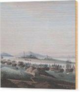View Of The Thirteen Factories Wood Print