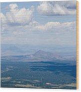 Views From The Pikes Peak Highway Wood Print