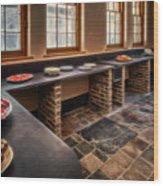 Vintage Kitchen Wood Print