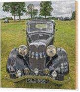 Vintage Riley Wood Print