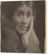 Virginia Woolf Wood Print