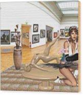 Virtual Exhibition - 33 Wood Print