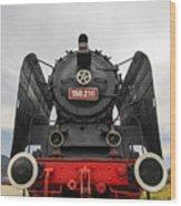 Viseu De Sus Steam Engine Wood Print
