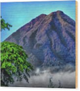 Volcan De Agua, Antigua Guatemala I Wood Print
