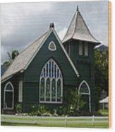 Wai'oli Hui'ia Church Wood Print