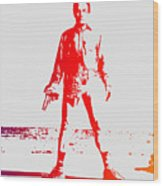 Walter White Aka Heisenberg Wood Print