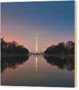 Washington Monument 1 Wood Print