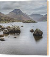 Wastwater Long Exposure Wood Print