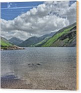 Wastwater Wood Print