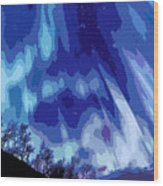 Watcher Of The Skies Wood Print