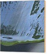 Water Drop Forming Wood Print