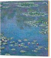Water Lilies 1906 Wood Print