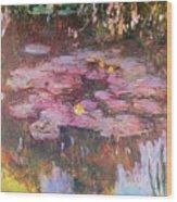 Water Lilies 1917 Wood Print