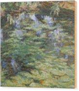 Water-lilies Wood Print