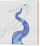 Water Nymph Xlvii Wood Print