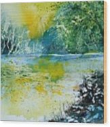 Watercolor  051108 Wood Print