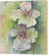 Watercolour Wood Print