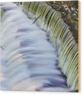 Waterfall Wood Print by June Marie Sobrito