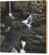 Waterfalls  Wood Print