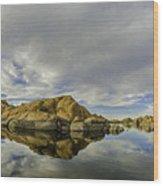 Watson Lake 2 Wood Print