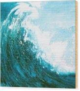 wave I Wood Print