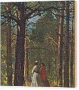 Waverly Oaks Wood Print