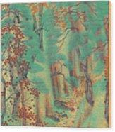 Way To Atago Wood Print